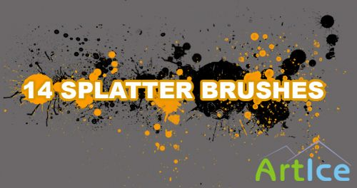 Ultimate Splatter Brushes for Photoshop