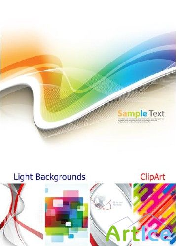 Light Backgrounds