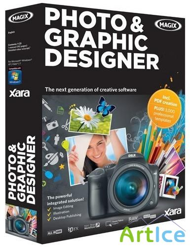 Xara Photo & Graphic Designer MX 8.1.1.22437