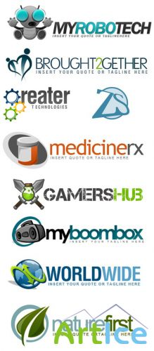Psd Logo Design for Photoshop Pack 16