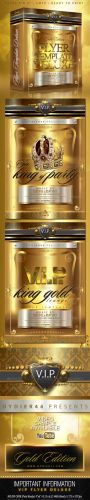 V.I.P Gold Deluxe - Flyer Template