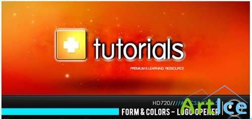 Form & Colors - Logo Opener Project for After Effects (Videohive)