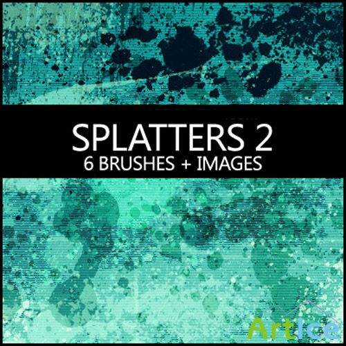 Splatters Brushes 2 +images