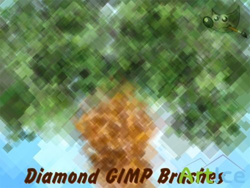 Diamond GIMP Brushes