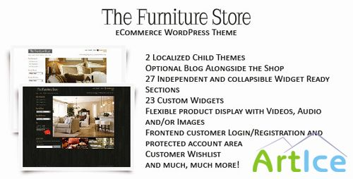 ThemeForest - The Furniture Store v1.0.5 - WordPress eCommerce Shop