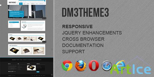 ThemeForest - Dm3theme3 - Responsive Business Template - RIP