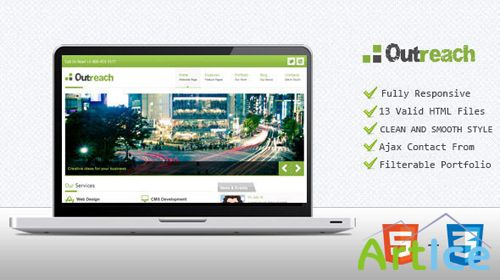 ThemeForest - Businezz - Responsive HTML Template - RIP