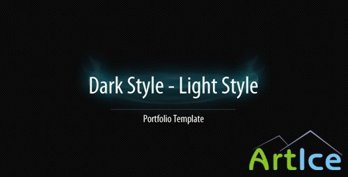 ActiveDen - Dark - Light Portfolio Template
