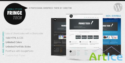 ThemeForest - Fringe Tech v1.2 - Premium WordPress Theme