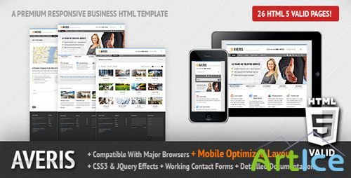 ThemeForest - Averis Responsive Business HTML Template