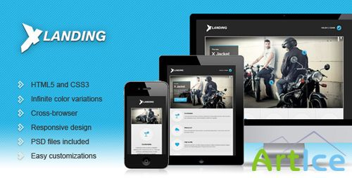 ThemeForest - X Landing - Responsive Business Landing Page