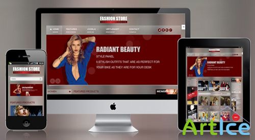 SmartAddons - SJ Fashion Store - Template For Joomla 2.5 - Retail