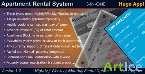 CodeCanyon - Apartment Rental System