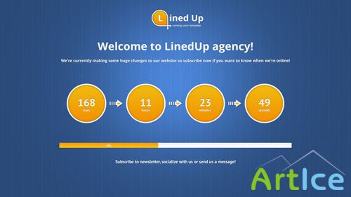 ThemeForest - LinedUp Responsive Coming Soon Template