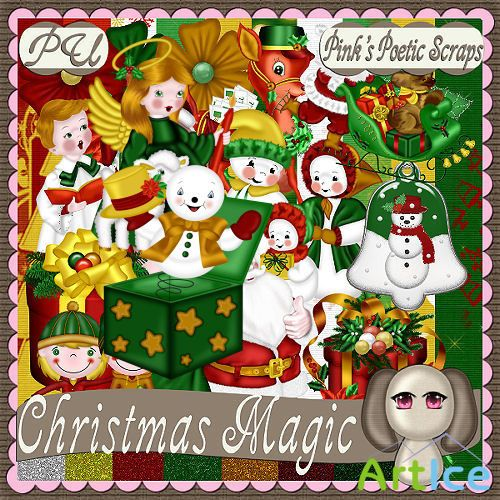 Scrap Set - Christmas Magic
