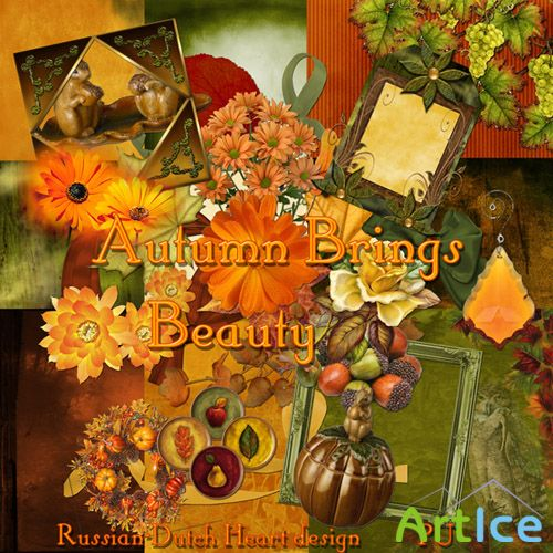 Scrap Set - Autumn Brings Beauty