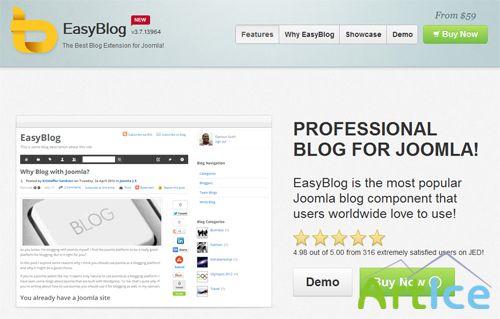 Easyblog v308593 joomla master шаблоны joomla 25