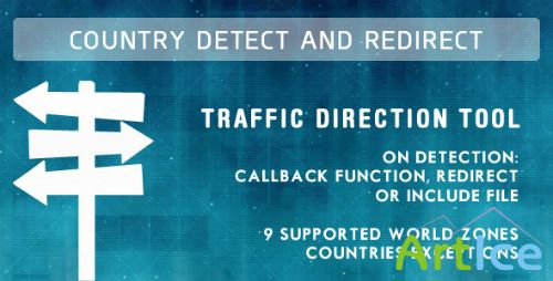 CodeCanyon - Country Detect & Redirect