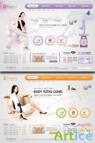 PSD Web Templates - Body Total Clinic