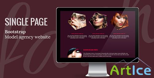 ThemeForest - MAgency One Page Template