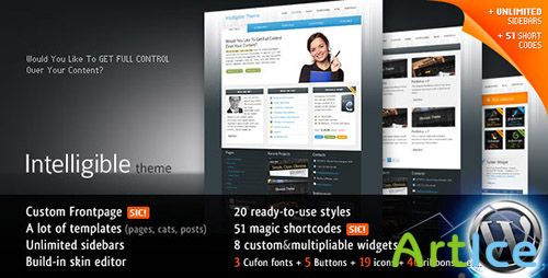 ThemeForest - Intelligible Business 20-in-1 WP Theme