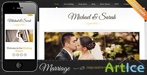 ThemeForest - Marriage - Responsive Wedding Template - FULL
