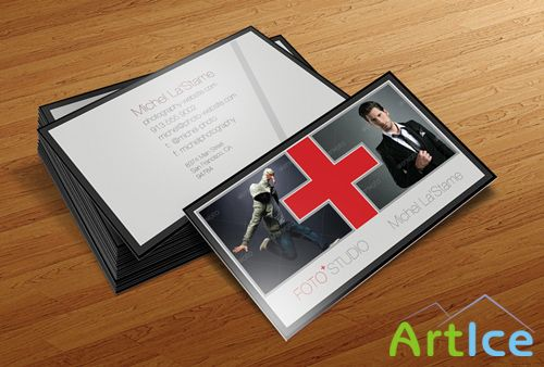 Photographer Business Card Template V2