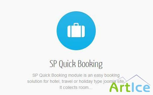 SP Quick Booking for Joomla 2.5