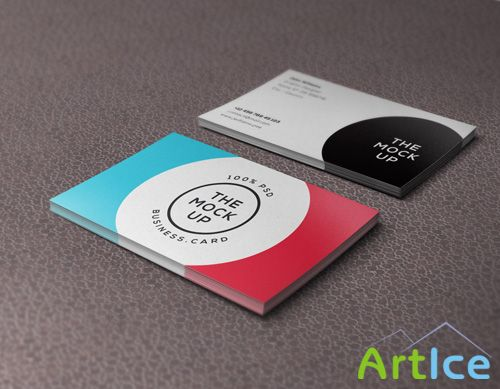 Business Card Mock-up Vol 9