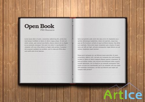 Open Book PSD