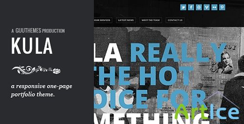 ThemeForest - KULA - Responsive HTML5 One Page Theme - RIP