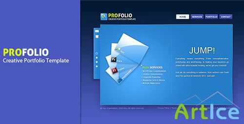 ThemeForest - PROFOLIO - RIP