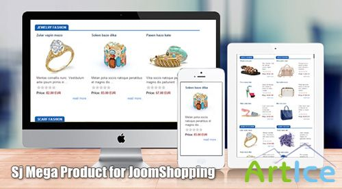SmartAddons - SJ Mega Product for JoomShopping - Joomla 2.5 & 3.0