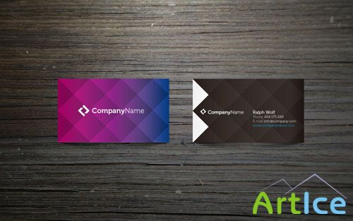 Pixeden - Corporate Business Card Vol 1