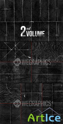 WeGraphics - Folded and Scratched Paper Textures Part II