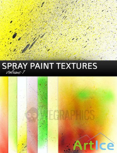 WeGraphics - Spray Paint Textures Vol1