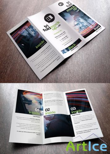 Trifold Mock-Up vol 4