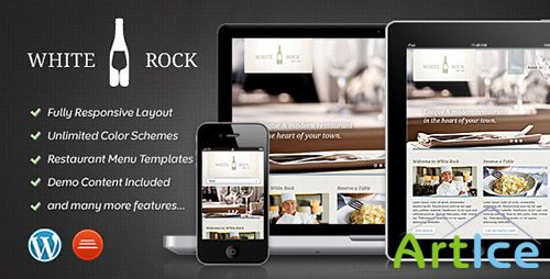 ThemeForest - White Rock v1.1 - Restaurant & Winery Theme