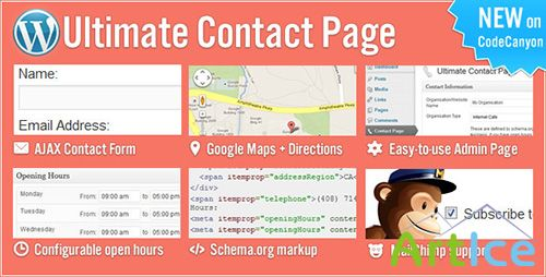 CodeCanyon - Ultimate Contact Page