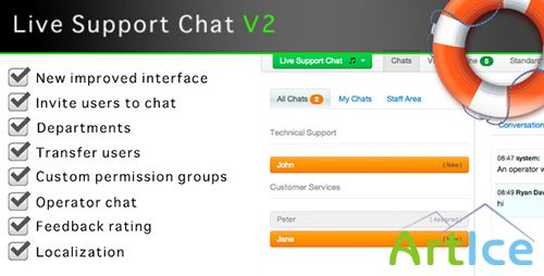 CodeCanyon - Live Support Chat v1.03