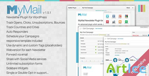 CodeCanyon - MyMail v1.5.0 - Email Newsletter Plugin for WordPress