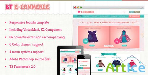 ThemeForest - BT E-commerce - Responsive Joomla and Virtuemart