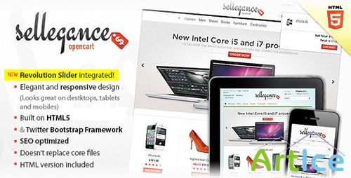 ThemeForest - Sellegance v1.5.0.1 - Responsive and Clean OpenCart Theme