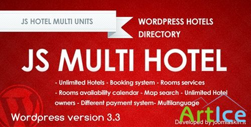 CodeCanyon - Js Hotel booking system v2.2.1