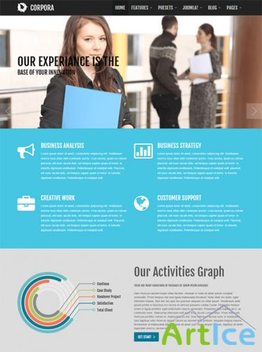JoomShaper - Shaper Corpora - Joomla 2.5 - 3.0 Business Template
