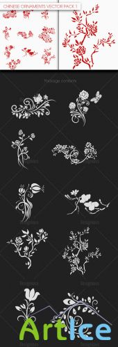 Chinese Ornaments Vector