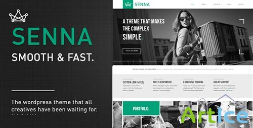 ThemeForest - Senna v1.2.3 - Responsive Portfolio/ Blog WordPress Theme