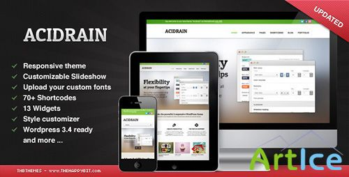 ThemeForest - AcidRain v1.0.1 - Theme For WordPress