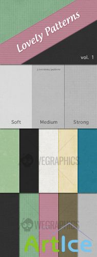 WeGraphics - Lovely Patterns Vol1 – Seamless Web Backgrounds