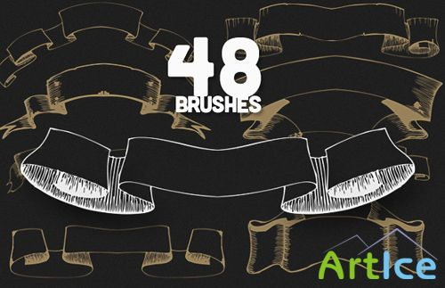 Scrolls PS Brushes Set 3